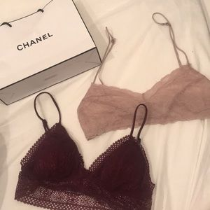 2 lace bralette 💕 Victoria's Secret